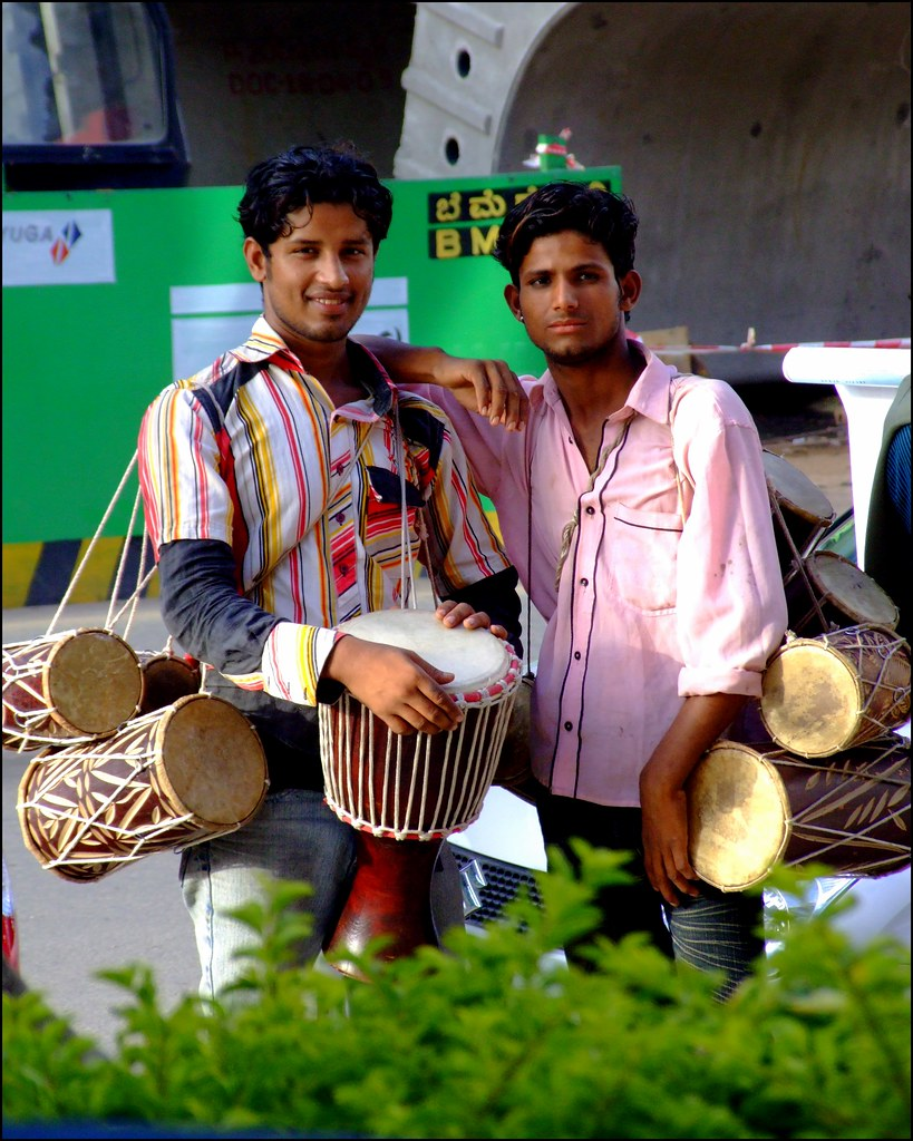 The Drum Sellers of MG Road