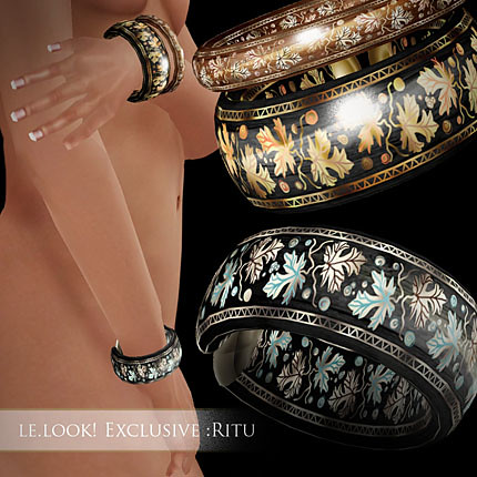 Zaara : LE.LOOK! Exclusive - Ritu bracelets