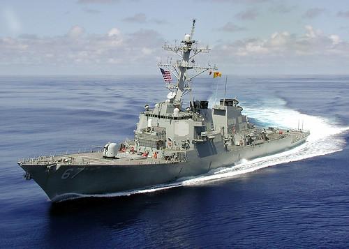 フリー画像| 船舶/ボート| 軍用船| DDG-67 コール| DDG-67 USS Cole| ミサイル駆逐艦|      フリー素材|