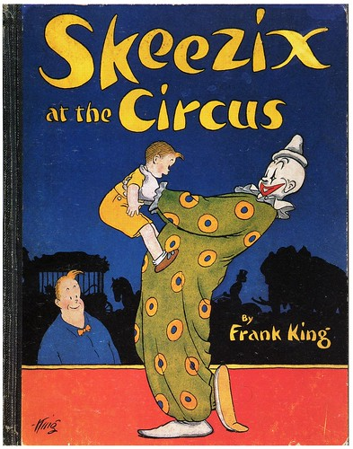 Skeezix at the Circus