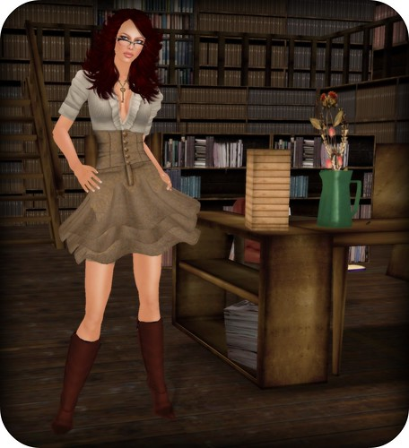 to be a sexy librarian.