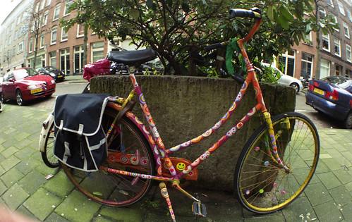 Fiets in Amsterdam OudZuid