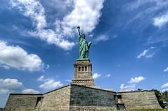 Statue (pgbcustoms) Tags: new york nyc trip ny newyork college statue liberty nikon august statueofliberty 2009 hdr lightroom photomatix
