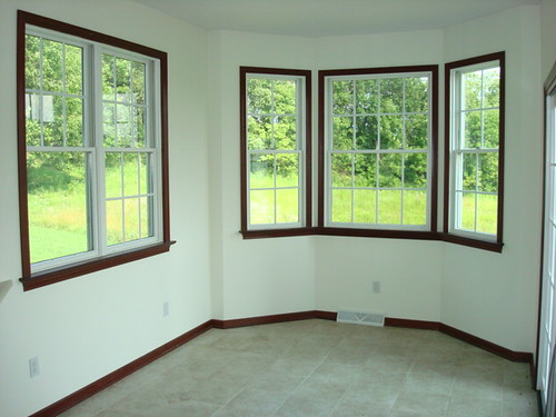 Decorating 187 White Windows With Wood Trim Inspiring