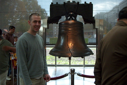 Visiting the Liberty Bell 2003