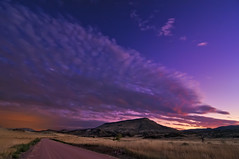 Chromatic Serenity at Red Mountain Open Space (Fort Photo) Tags: road county pink blue sunset red sky foothills mountain nature grass night clouds skyscape stars landscape evening nikon colorado open purple searchthebest fort space lavender fortcollins co grasses bluehour prairie grassland collins 2009 dri grasslands laramie afterdark chromatic larimer d300 tokina1116