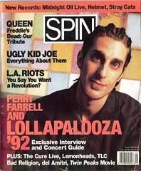 Spin Magazine August 1992