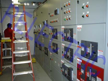 GE SWITCHGEAR LINEUP