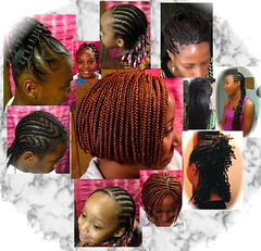 Hair Collage- Flawless Hair by Jehaan (mrsjehaan) Tags: black hair beads longhair bob twist shorthair ponytail braids naturalhair weave coils extensions locs shreds afropuff nappyhair crimps dreadlocs microbraids kinkytwist blackhairstyles combtwist scalpbraids