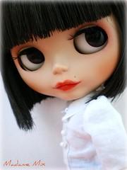 Ebony eyes..