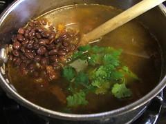 Sopes with Black Beans and Skirt Steak