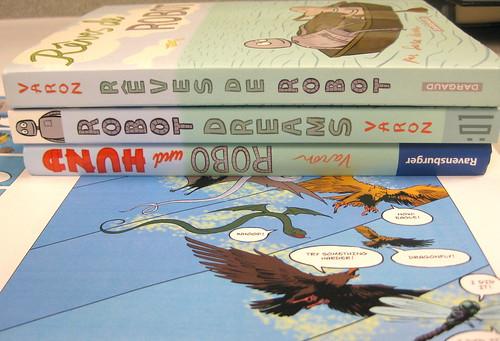 Robot Dreams Sara Varon's Wordless Book in Three Languages