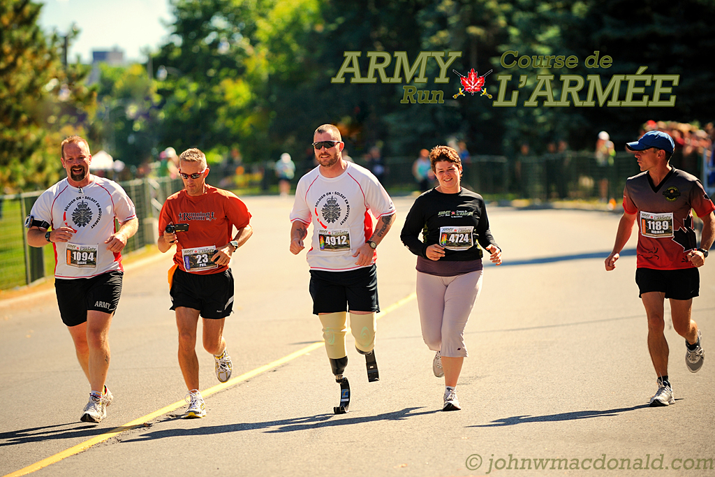 Jody Mitic - Canada Army Run 2009
