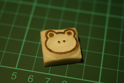 Step 9 - The carved stamp