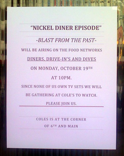 FYI Nickel on D3 (viewing  party @ Cole's!)
