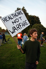 Healthcare NOT Warfare