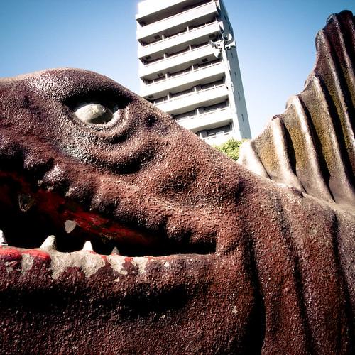 Spinosaurus in Nishi Kasai