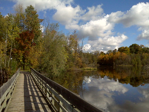 Located just minutes from Kitchener/Waterloo Ayr was looking particularly beautiful this fall morning.