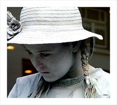 Portrait (Franc Le Blanc .) Tags: portrait girl marketplace shertogenbosch livingstatues