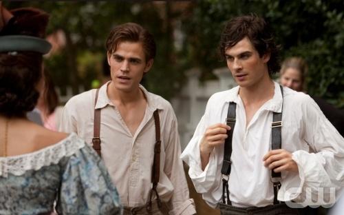 Stefan e Damon