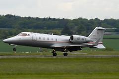 OE-GVT - 60-360 - Vista Jet - Learjet 60XR - Luton - 090516 - Steven Gray - IMG_2517