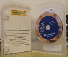 Windows 7 Pro - Licence Card