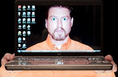 I Was Afraid This Might Happen (rebelshootsfan) Tags: desktop wallpaper me self computer laptop help pip pictureinpicture