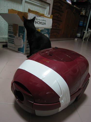 My vacuum cleaner, fixed!