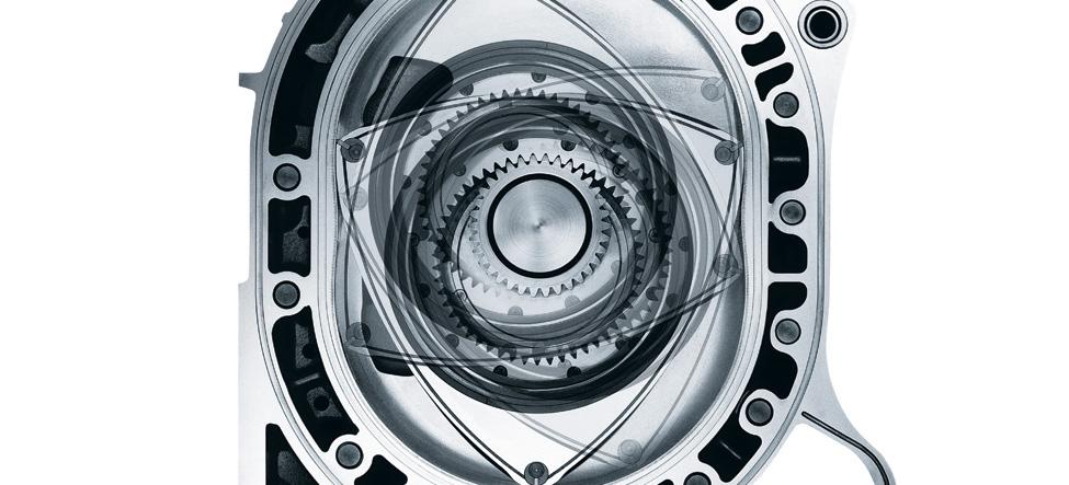 Mazda RX-8 Six intake ports