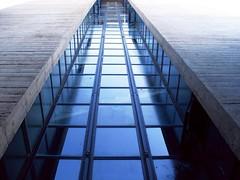 climbing high, up above the streets (sciain) Tags: scale stairs grigio blu cement cemento palazzo bianco trieste riflesso maratona finestre vetrate rampe melara giochidilinee feederyesterdaywenttoosoon fotonordest linessgames