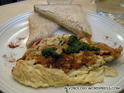 Leon's egg dish