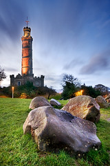 Nelson Monument (Surely Not) Tags: monument sunrise landscape scotland nikon edinburgh flickr hill nelson meet calton d300 yourphototips