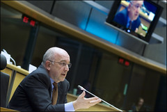 Mr Joaqun Almunia answering questions on economic and monetary issues (European Parliament) Tags: brussels france democracy spain election europa europe european belgium flag president political group eu bruxelles parliament communication strasbourg espana rights leader session elections citizen europeanunion ep commissioner citizens politic joaqun 2010 europeanparliament hearings plenary europeanflag euroepan almunia parlamentoeuropeo citoyen designate europischesparlament parlementeuropen europaparlamentet eurpai euroopaparlament europeanelections europosparlamentas parlementparlament europejskiparlamento europeuparlamentul parlamentevropski parlamenteuroopan europskparlament parlaimintnaheorpa europeancitizens eurostudio europeanelectionscampaign europasparlaments parlamentilparlament ewropeweuropees europeaneuropsky parlamenttieuropaparlamentet