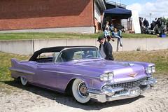 Cadillac 1958 (Drontfarmaren) Tags: classic cars sweden 14 may cadillac 1958 sverige maj 2011 lindesberg vårmönstring