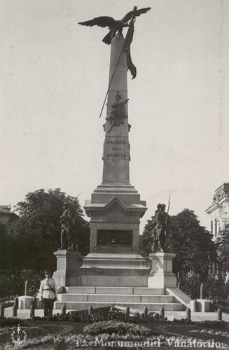 Monumentul Vanatorilor - 1935