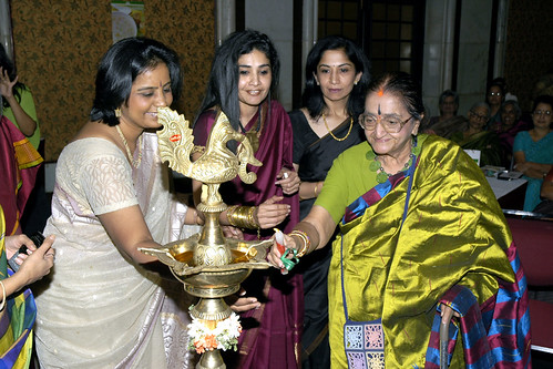 Pratibha with Nina Reddy & Mrs.YGP