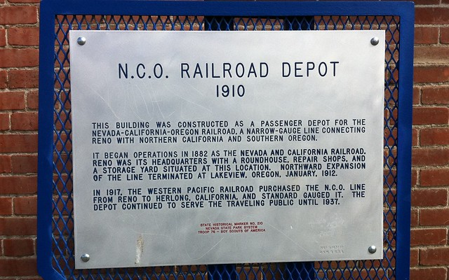 Nevada Historical Marker #210