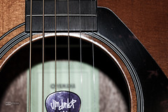 Guitar-1 (Miiksterr) Tags: canoneos rebelt5 1855mm lightroom photoshop guitar pick purple multicolor multiple many picks strings brown wood nice fancy acoustic sound music