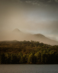 Mist Clearing (Roksoff) Tags: mood mist atmosphere nikond810 nikond800 leefilters gitzo 1635mmf4 70200mmf28 torridon coiremhicfhearchair liathach glentorridon glendamph bendamph slioch lochclair beinneighe shieldaig beinnalligin kinlochewe triplebuttress sgurrdubh landscape panoramic winter mountains outdoors water snow ice loch sky blackandwhite mono colour