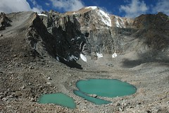 Gauri Kund - the Emerald Pools (Saumil U. Shah) Tags: world wallpaper mountain mountains nature trekking trek religious peace god postcard religion pass tranquility tibet divine blessing holy journey harmony spirituality spiritual kailash yatra pilgrimage tranquil himalayas blessed desktopwallpaper gauri shah manasarovar trekker dolma kund kailas  saumil kmy dolmala gaurikund  worldtrekker  kmyatra saumilshah