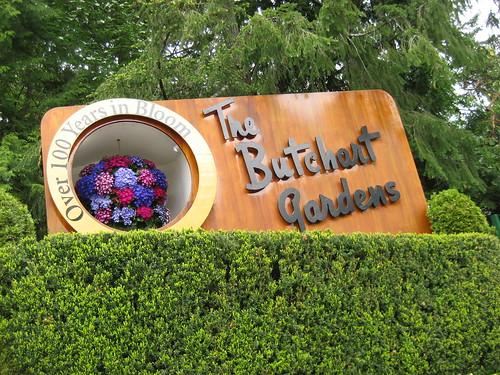 Butchart Garden Entrance