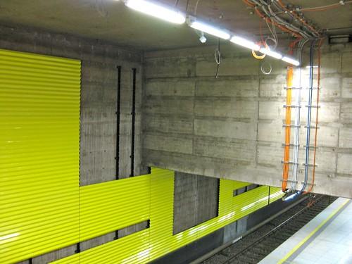 U-Bahn Baustelle an der Münchner Freiheit