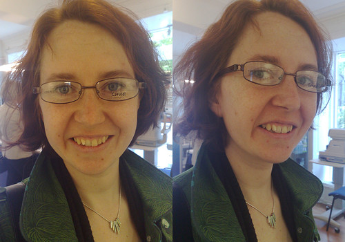 Help me pick my new glasses. These are No 8.