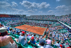 Court Central - Roland Garros 2009 (NicolasGaire) Tags: playing paris france wideangle player tennis nicolas roland terre sur simple 2009 hdr rolandgarros raquette homme hdri retour masculin joueur gaire professionnel garros grandangle sigma1020 messieurs internationaux courtcentral professionnal nicolasgairecom wwwnicolasgairecom gettyimagesfranceq1