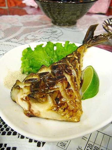 北海道鯖魚鹽燒($80)