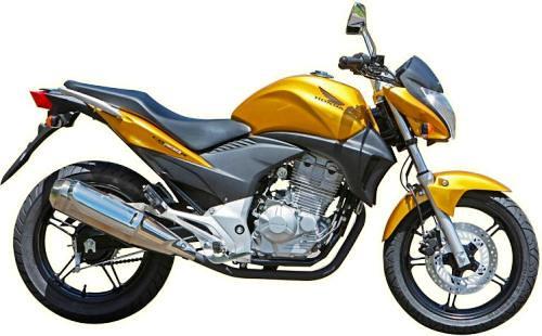 Nova moto Honda CB 300 R (substituta da CBX 250 Twister) é lançada