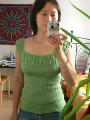 Molly Ringwald Top in Green