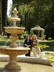 Fountain (Rawbert A. Wagner) Tags: california wedding fountain hotel michelle delta waters sacramento mansion debbie grandislandmansion rawbertawagner