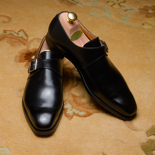 single men in monkton Monkton, a single buckle monk strap shoe with a plain front made from the finest  calf leather or suede and single leather soles for the men's main collection.