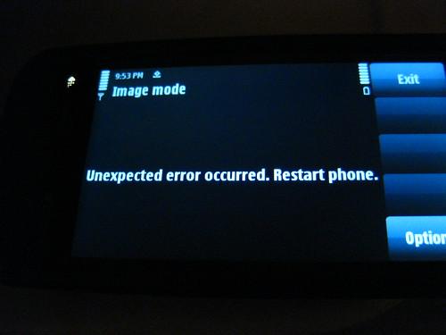 Nokia 5800 Fail